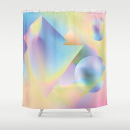 seapunk Shower Curtain