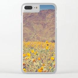 Super Bloom Clear iPhone Case