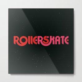 Rollerskate Metal Print