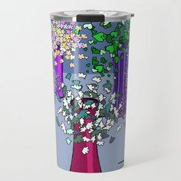 Cascade Flowers Travel Mug