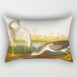 Tell-tale Godwit, or Snipe Bird Rectangular Pillow