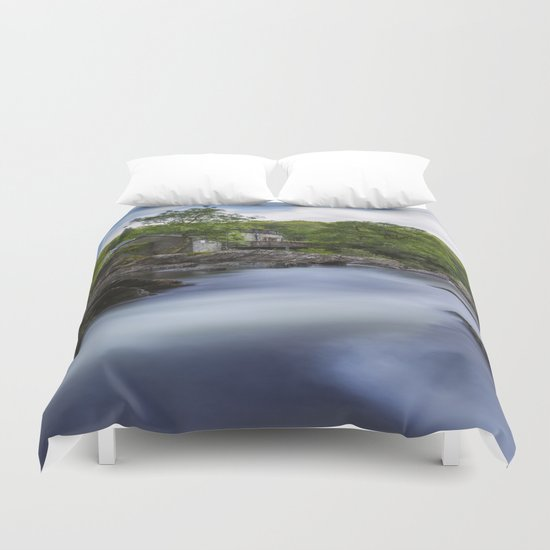 Peaceful Waters Duvet Cover