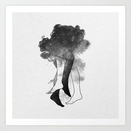 Somewhere in heaven. Art Print