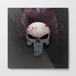 Punisher Skull  Metal Print