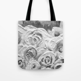 Roses on Fire In the Evening Rainbow Tote Bag