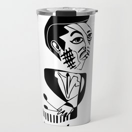 "Art ""Bu"" Blakley Sketch Travel Mug"