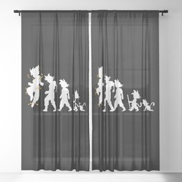 Evolution Sheer Curtain