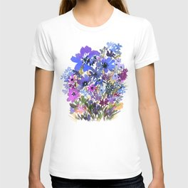 Heavenly Blues and Purples T-shirt