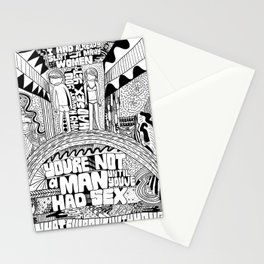 Not A Man Stationery Cards