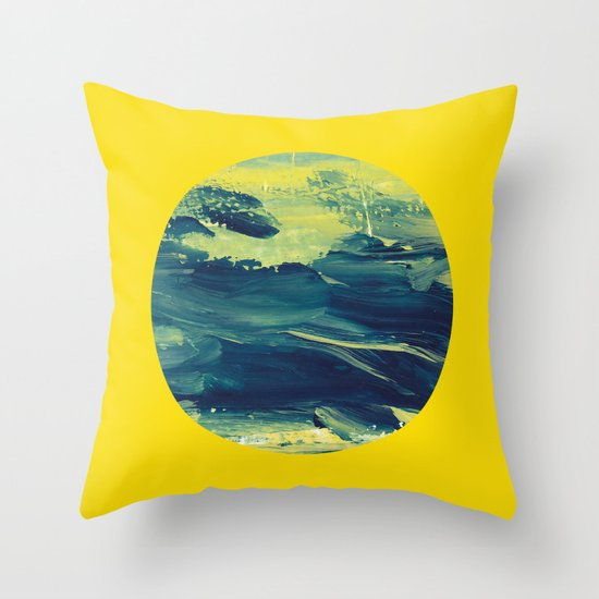 Know Your Textures Throw Pillow