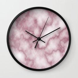 Pink Marbel Wall Clock