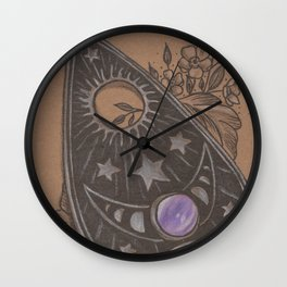 Pretty Planchette Wall Clock