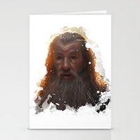 gandalf Stationery Cards featuring Gandalf by Ryky