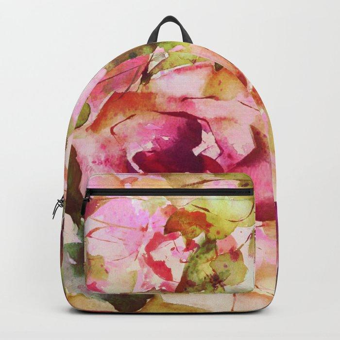 roses abstraites Backpack