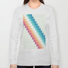 Retro Rainbow Long Sleeve T-shirt