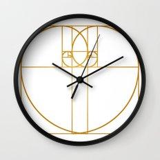 Heart of Gold Wall Clock