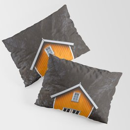Yellow Cabin Pillow Sham