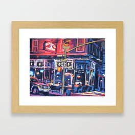 Whitehorse Tavern Framed Art Print