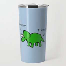 Triceratops Tricerabottom Travel Mug
