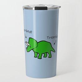 Triceratops Tricerabottom Travel Mug