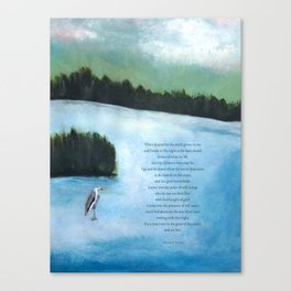 Ode to Peace of Wild Things Canvas Print