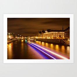 Seine, Paris Art Print