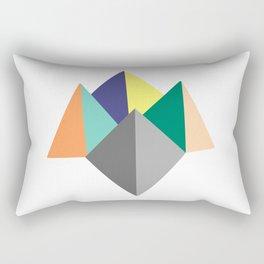 Paku Paku, original colours on white Rectangular Pillow