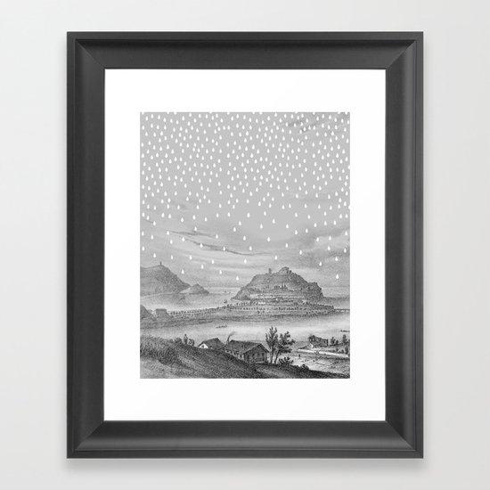 Euria Donostian Framed Art Print