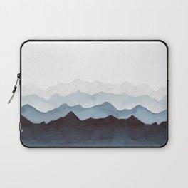 Indigo Mountains Landscape Laptop Sleeve