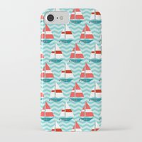 boat iPhone & iPod Cases featuring Boat by Valendji