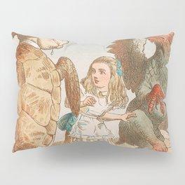Scene from Alice in Wonderland Pillow Sham