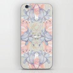 Wildflower symmetry iPhone & iPod Skin