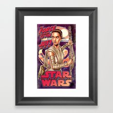 The Force Is Calling To You Framed Art Print