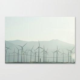 Wind Turbines Canvas Print