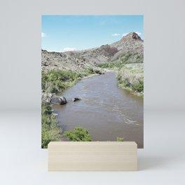 Rio Grande Views :: New Mexico Desert Mini Art Print
