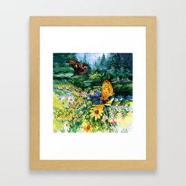 The Meadow by Kathy Morton Stanion Framed Art Print