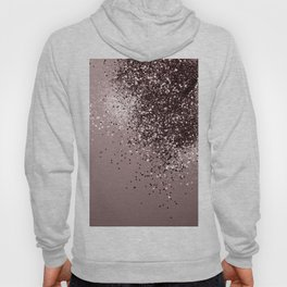 Sparkling Mauve Lady Glitter #1 #shiny #decor #art #society6 Hoody