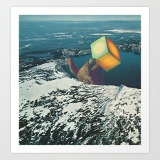 atomic winter Art Print