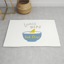 Loose Dips Sink Chips Rug