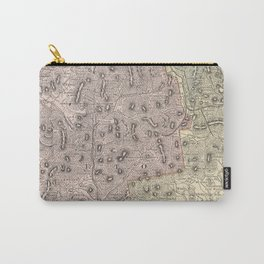 Vintage Map of The White Mountains (1901) Carry-All Pouch