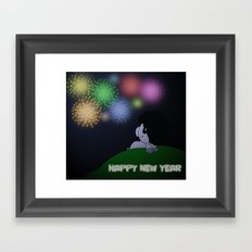 NYE 2014 Framed Art Print