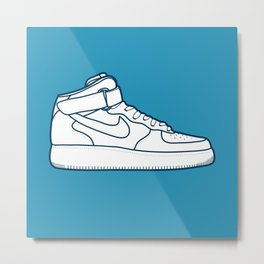 #13 Nike Airforce 1 Metal Print
