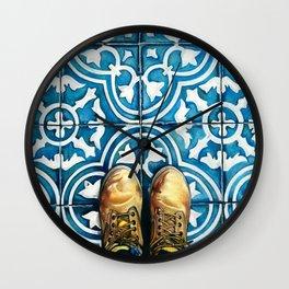 Art Beneath Our Feet - Mexico City Wall Clock