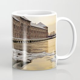 Sunset Power Plant Coffee Mug