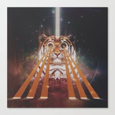 Tiger Wow Canvas Print