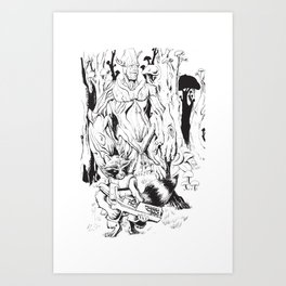 GOTG Illustration Art Print