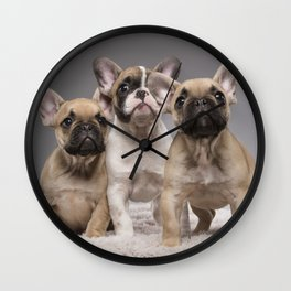 Puppy Gang Wall Clock