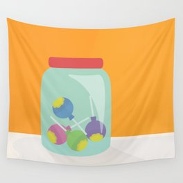 Fill the Lolly Jar Wall Tapestry