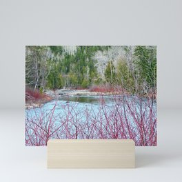 River of Trees Mini Art Print