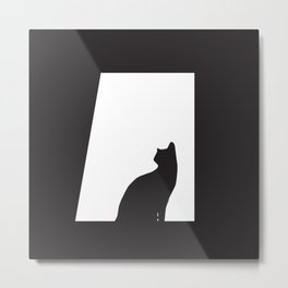 I'm waiting for you every night Metal Print